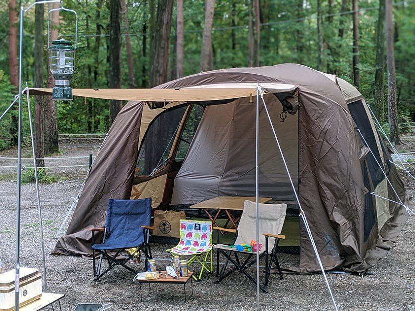 ogawa ティエラ5-EX2でのキャンプ