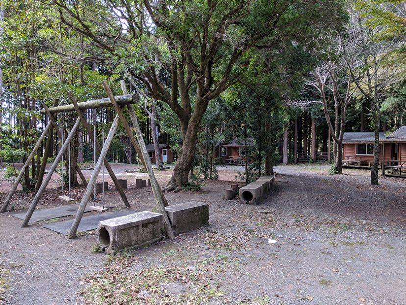 河津オートキャンプ場 遊具施設
