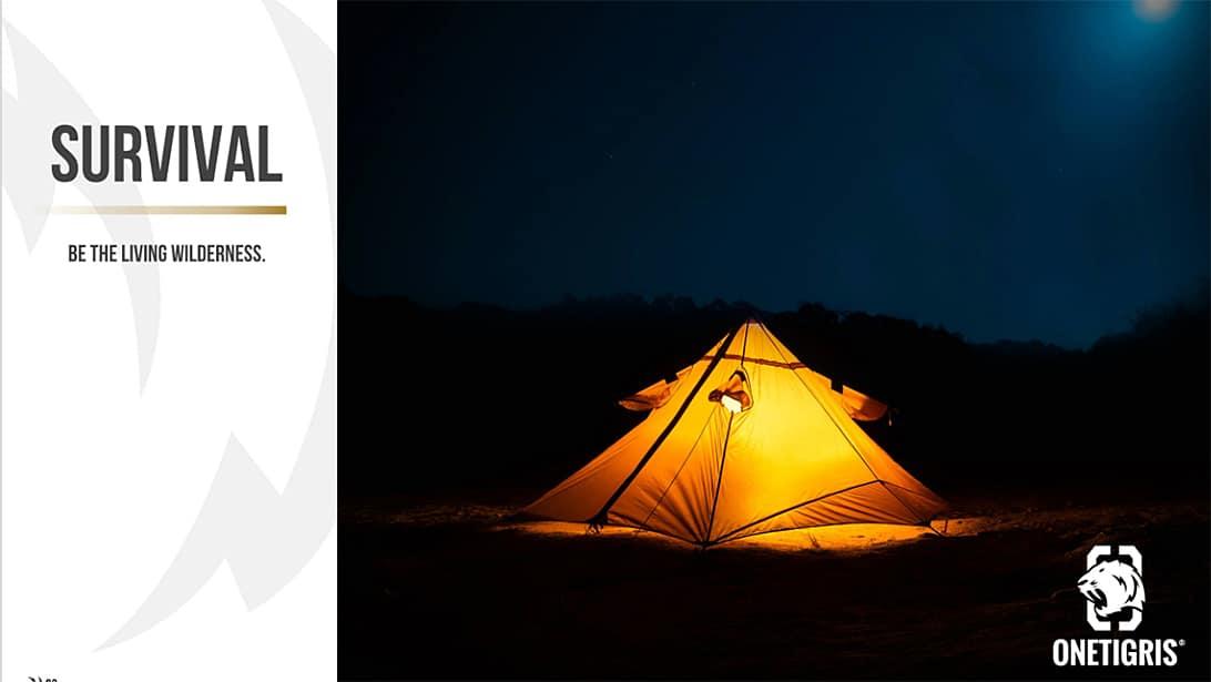 onetigrisのテントとソロキャンプに求める条件