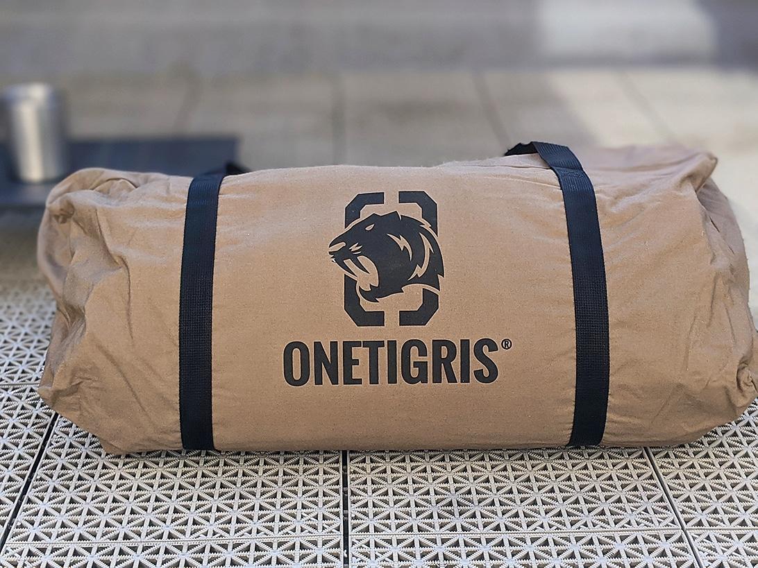 OneTigrisスーパーシェルターを試し張り!